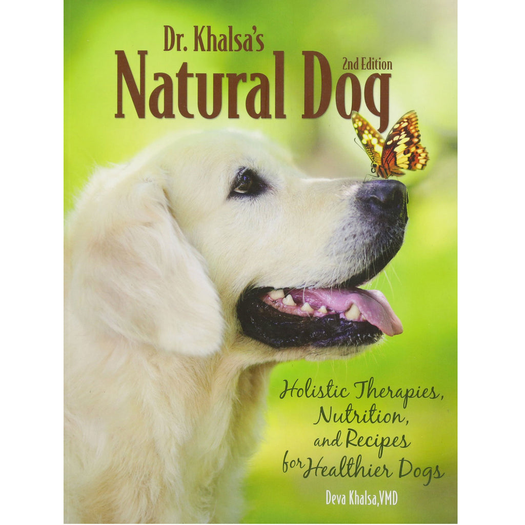 Dr Khalsa's Natural Dog by Deva Khalsa VMD