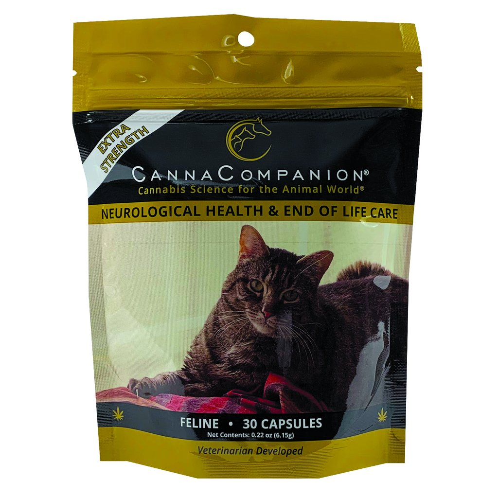 Canna Companion™ Hemp Supplement for Cats - Extra Strength