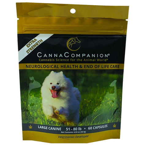 Canna Companion™ Hemp Supplement for Large Dogs - Extra Strength
