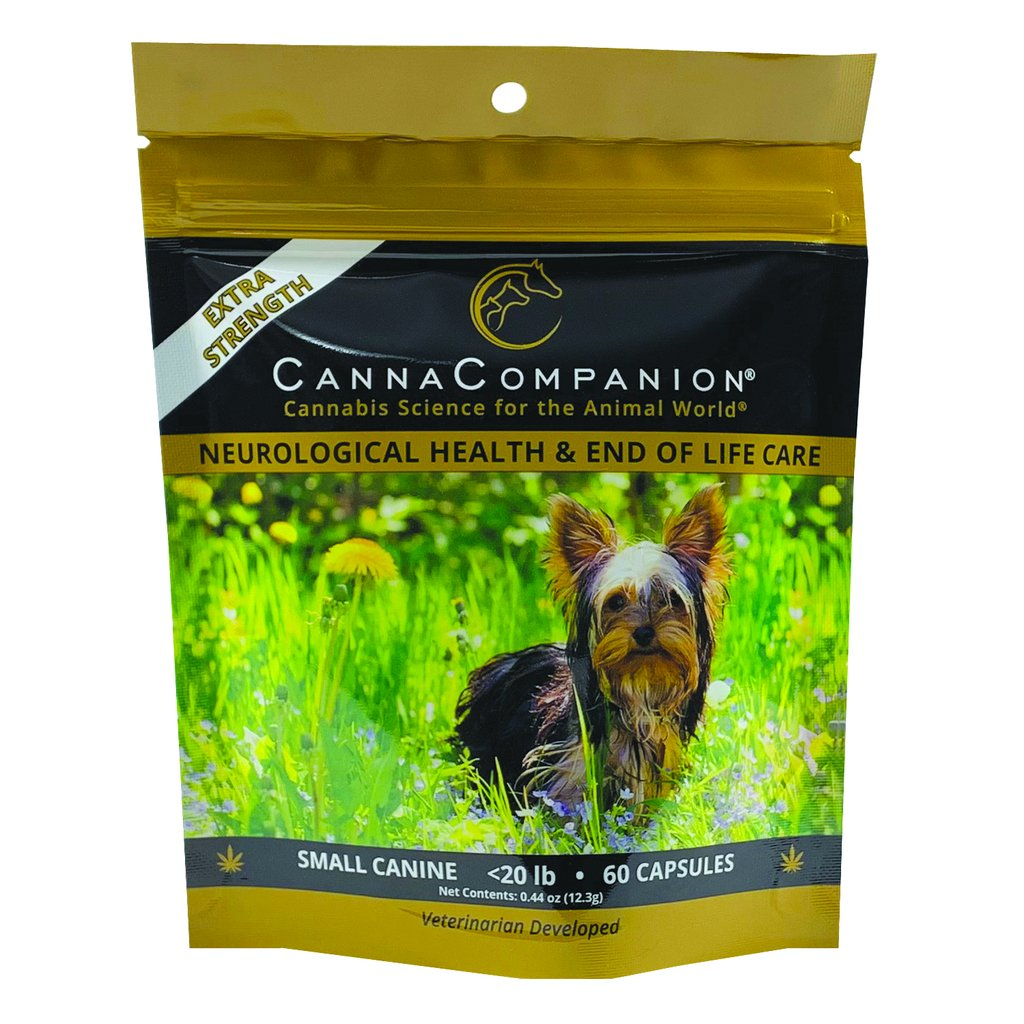 Canna Companion™ Hemp Supplement for Small Dogs - Extra Strength
