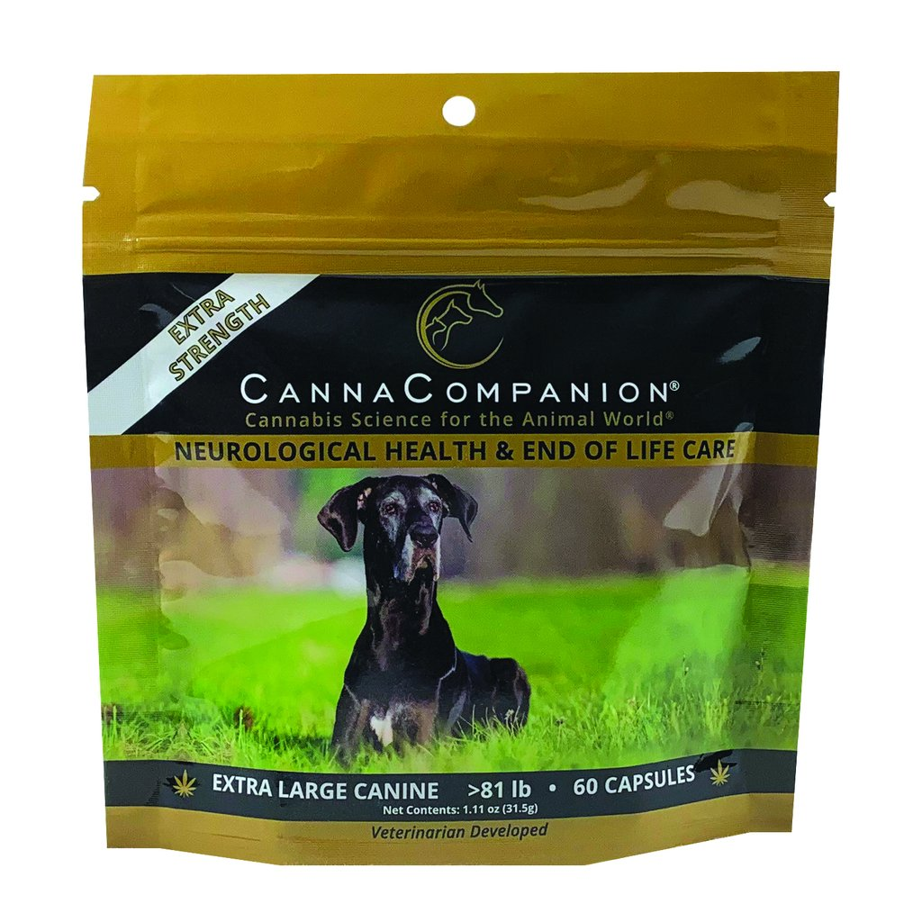 Canna Companion™ Hemp Supplement for Extra Large Dogs - Extra Strength