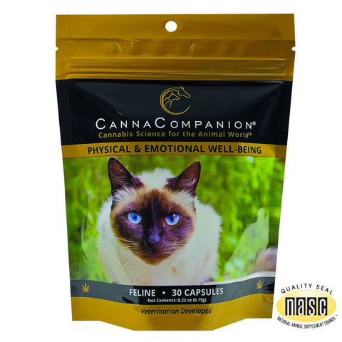 Canna Companion™ Hemp Supplement for Cats - Regular Strength