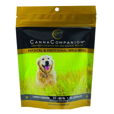Canna Companion™ Hemp Supplement for Large Dogs - Regular Strength
