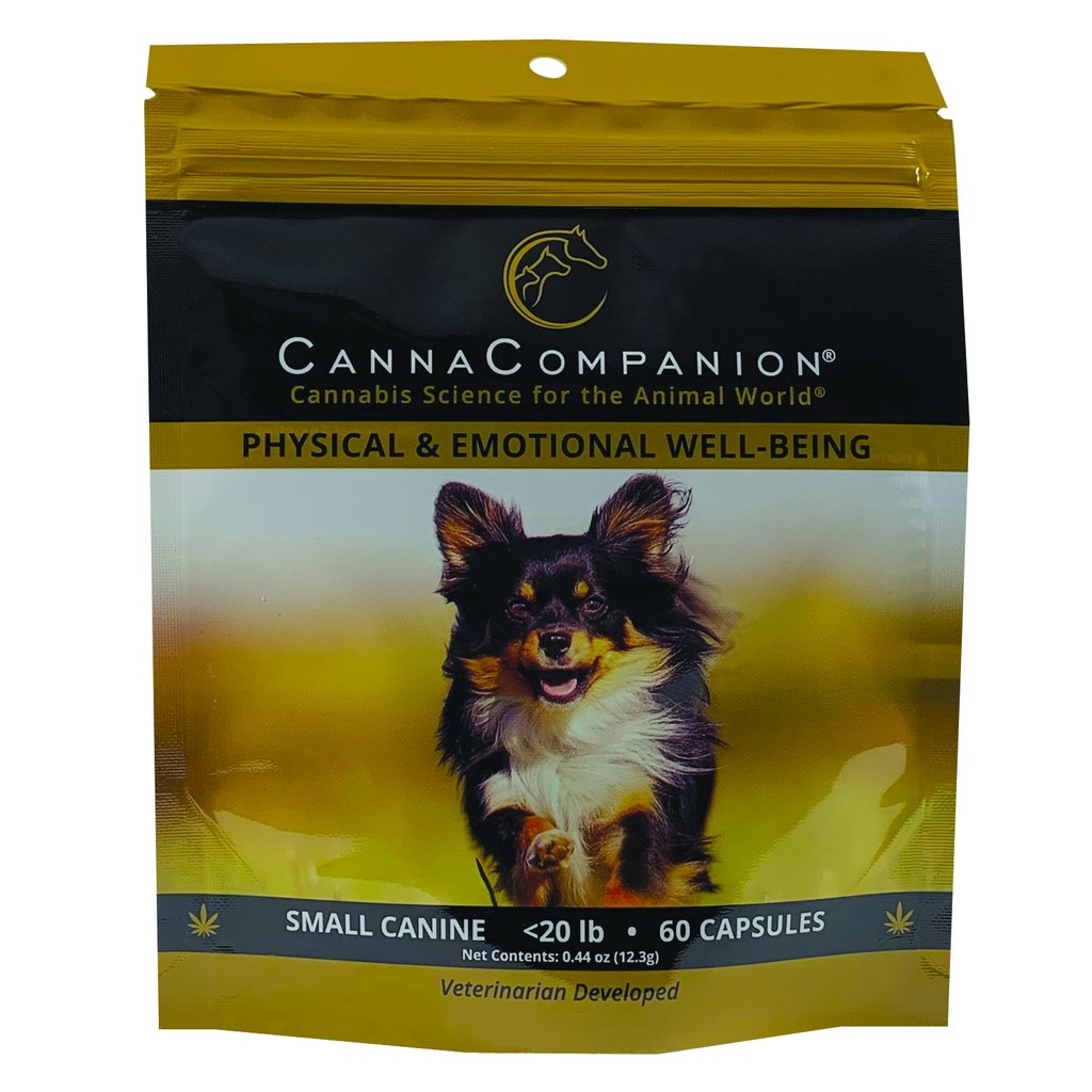 Canna Companion™ Hemp Supplement for Small Dogs - Regular Strength