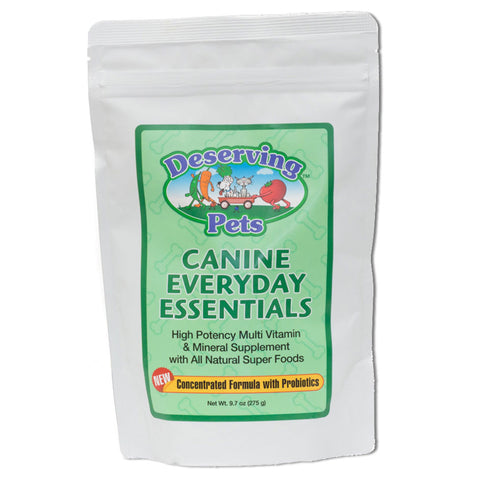 Deserving Pets Canine Everyday Essentials - Vitamin for Dogs - 60 day Supply