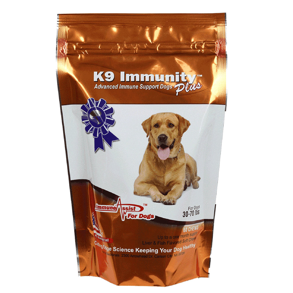 Aloha Medicinals K9 Immunity Plus® Canine Immune Supplement - Medium/60 chews