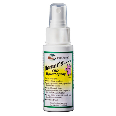 PetNPeopl™ Homer's™ Hemp Topical Spray - 2oz