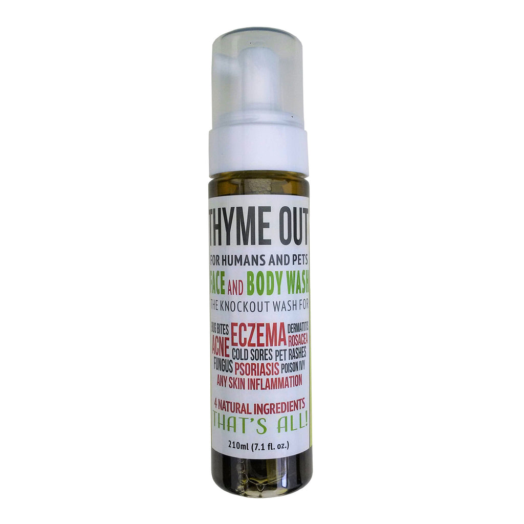 Thyme Out Foaming Wash for Pets and People - 7.1 oz