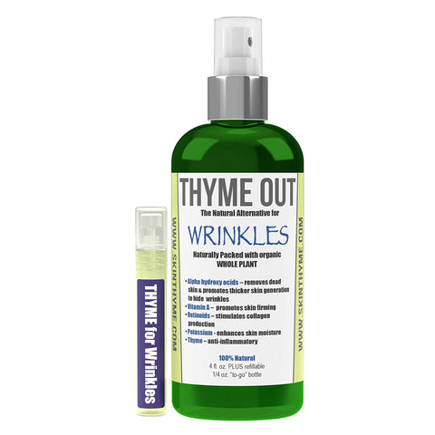 Thyme Out Natural Alternative for Wrinkles - 4 oz