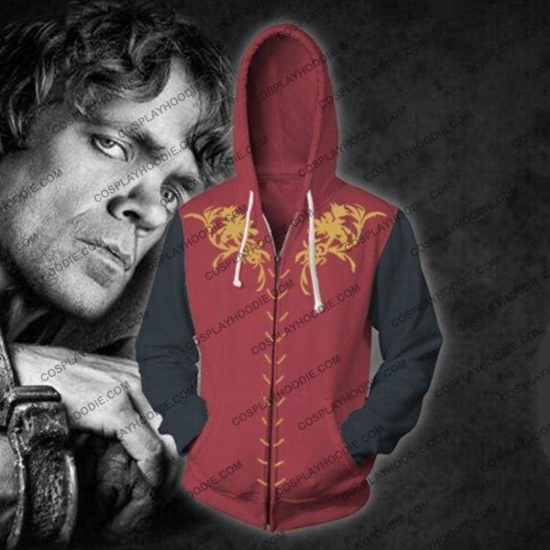 Game Of Thrones Cosplay Jacket Zip Up Hoodie