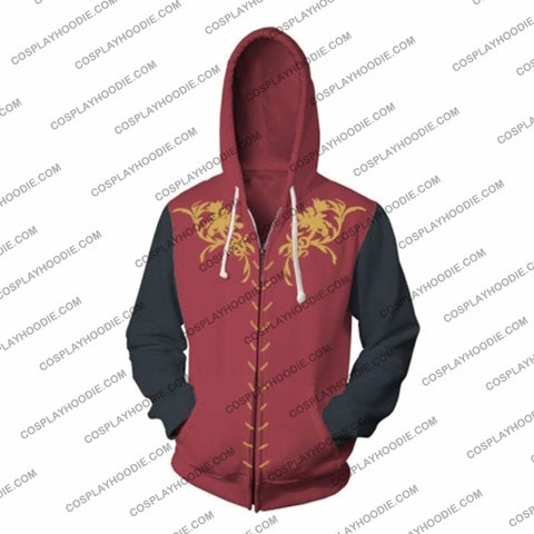 Image of Game Of Thrones Cosplay Jacket Zip Up Hoodie