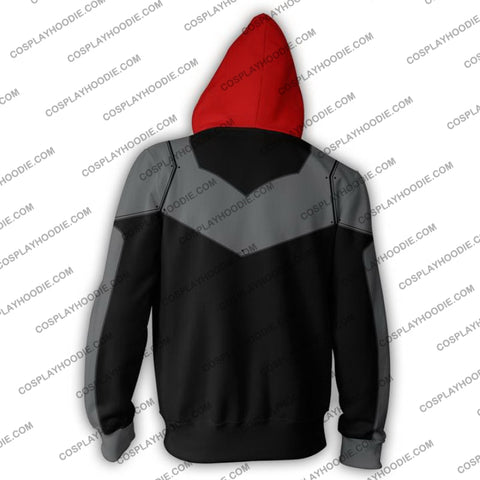 Image of Red Hood Hoodie Jacket Cosplay