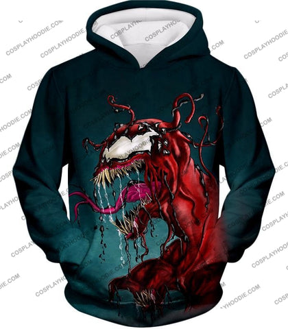 Deadly Alien Symbiote Venom T-Shirt Ve011 Hoodie / Us Xxs (Asian Xs)
