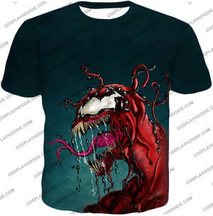 Deadly Alien Symbiote Venom T-Shirt Ve011 / Us Xxs (Asian Xs)
