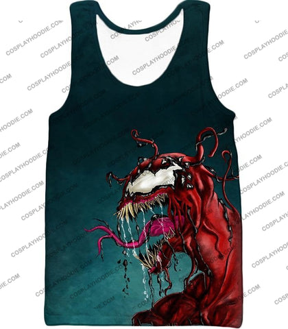 Deadly Alien Symbiote Venom T-Shirt Ve011 Tank Top / Us Xxs (Asian Xs)