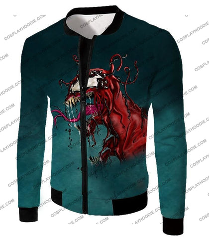 Deadly Alien Symbiote Venom T-Shirt Ve011 Jacket / Us Xxs (Asian Xs)