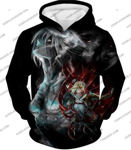 Attack On Titan Soldier Annie Leonhardt Black T-Shirt Aot012 Hoodie / Us Xxs (Asian Xs)