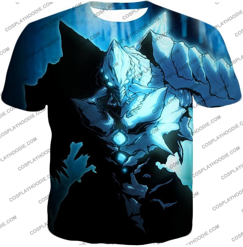 Overlord Ultimate Ruler Of The Frozen Glacier Cocytus Cool Anime Promo T-Shirt Ol123 / Us Xxs (Asian