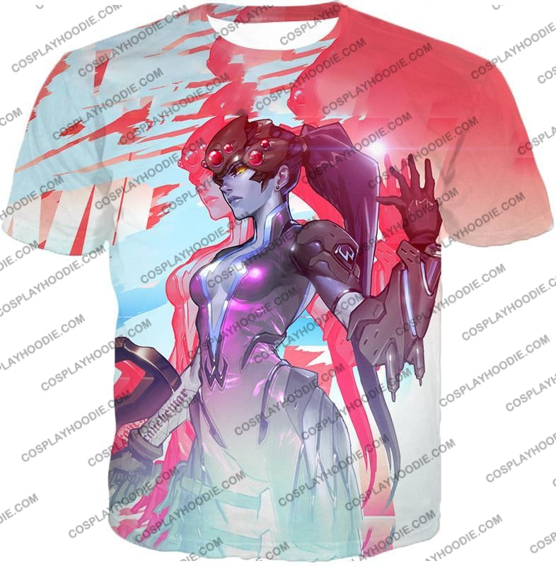 Overwatch Cold Hearted Villain Widowmaker T-Shirt Ow123 / Us Xxs (Asian Xs)