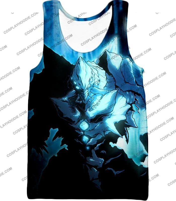 Overlord Ultimate Ruler Of The Frozen Glacier Cocytus Cool Anime Promo T-Shirt Ol123 Tank Top / Us
