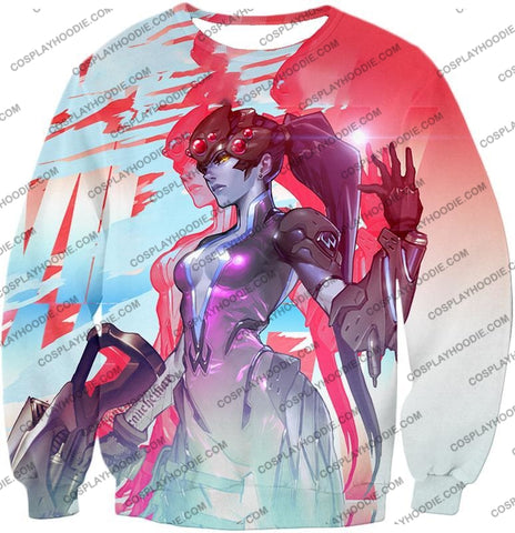 Image of Overwatch Cold Hearted Villain Widowmaker T-Shirt Ow123 Sweatshirt / Us Xxs (Asian Xs)