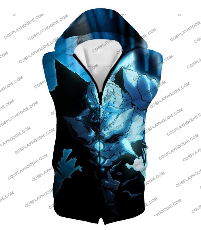 Overlord Ultimate Ruler Of The Frozen Glacier Cocytus Cool Anime Promo T-Shirt Ol123 Hooded Tank Top