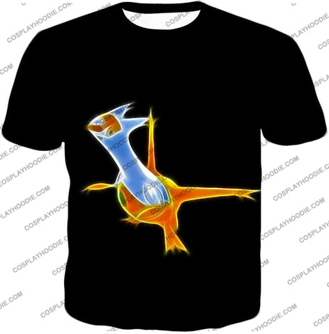 Image of Pokemon Awesome Dragon Psychic Type Legendary Latias T-Shirt Pkm128 / Us Xxs (Asian Xs)