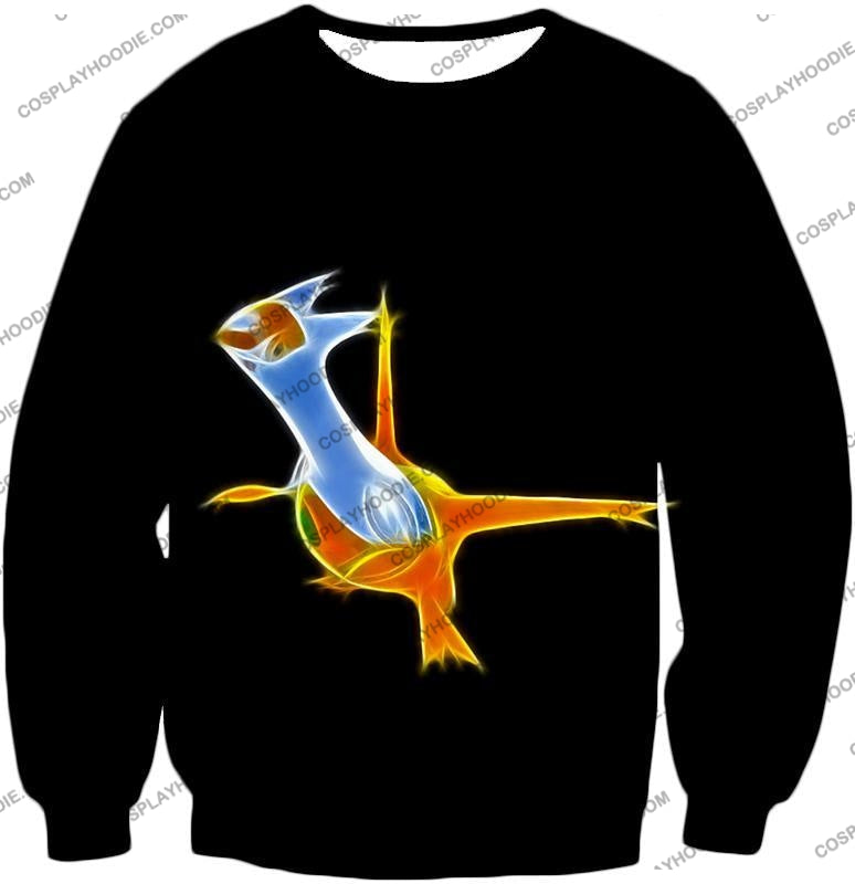 Pokemon Awesome Dragon Psychic Type Legendary Latias T-Shirt Pkm128 Sweatshirt / Us Xxs (Asian Xs)