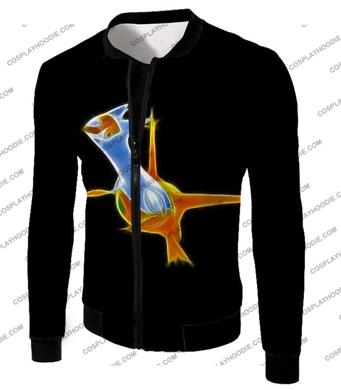 Pokemon Awesome Dragon Psychic Type Legendary Latias T-Shirt Pkm128 Jacket / Us Xxs (Asian Xs)