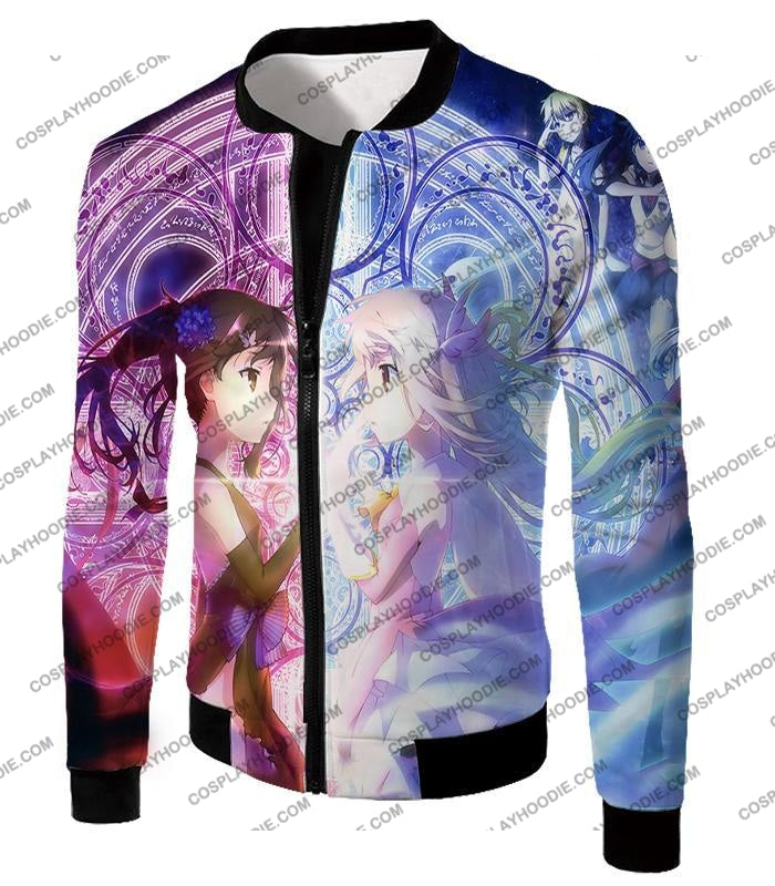 Fate Stay Night Cool Female Girls Magi Action T-Shirt Fsn128 Jacket / Us Xxs (Asian Xs)