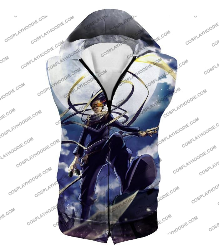 My Hero Academia Amazing Pro Eraserhead Ultimate Action T-Shirt Mha063 Hooded Tank Top / Us Xxs