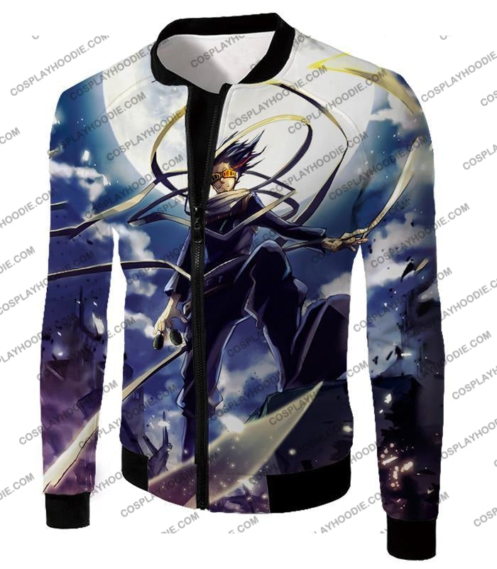 My Hero Academia Amazing Pro Eraserhead Ultimate Action T-Shirt Mha063 Jacket / Us Xxs (Asian Xs)