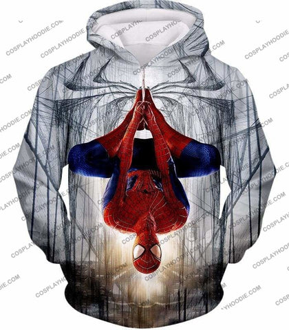 Image of Very Cool Hero Web Shooter Spiderman Action T-Shirt Sp131 - Hoodie / Us Xxs (Asian Xs) - T-Shirt