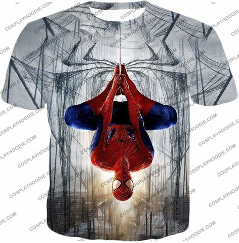 Image of Very Cool Hero Web Shooter Spiderman Action T-Shirt Sp131 - T-Shirt / Us Xxs (Asian Xs) - T-Shirt