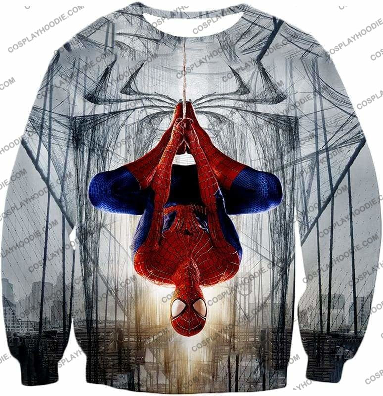 Very Cool Hero Web Shooter Spiderman Action T-Shirt Sp131 - Sweatshirt / Us Xxs (Asian Xs) - T-Shirt
