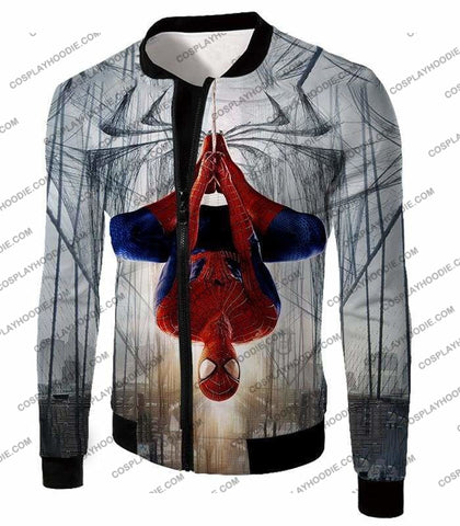 Image of Very Cool Hero Web Shooter Spiderman Action T-Shirt Sp131 - Jacket / Us Xxs (Asian Xs) - T-Shirt