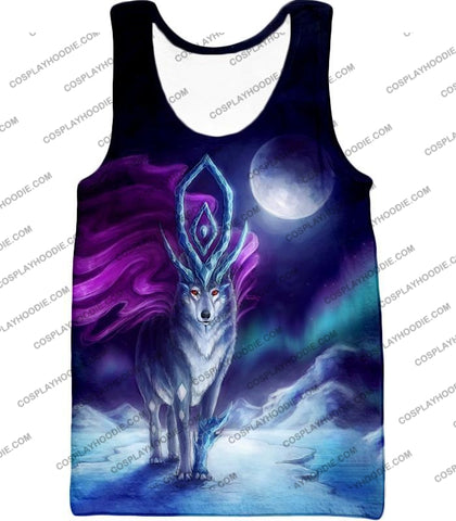 Image of Pokemon Cool Legendary Suicune Fanart Hd Graphic Promo Anime T-Shirt Pkm134 Tank Top / Us Xxs (Asian