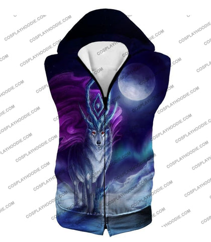 Image of Pokemon Cool Legendary Suicune Fanart Hd Graphic Promo Anime T-Shirt Pkm134 Hooded Tank Top / Us Xxs