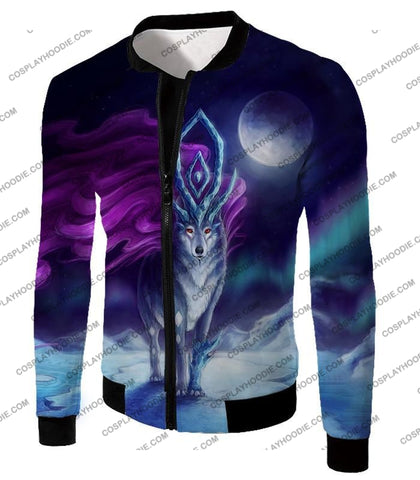 Image of Pokemon Cool Legendary Suicune Fanart Hd Graphic Promo Anime T-Shirt Pkm134 Jacket / Us Xxs (Asian