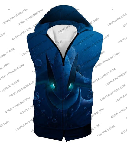 Image of Pokemon Very Cool Legendary Lugia Action Anime Graphic T-Shirt Pkm135 Hooded Tank Top / Us Xxs