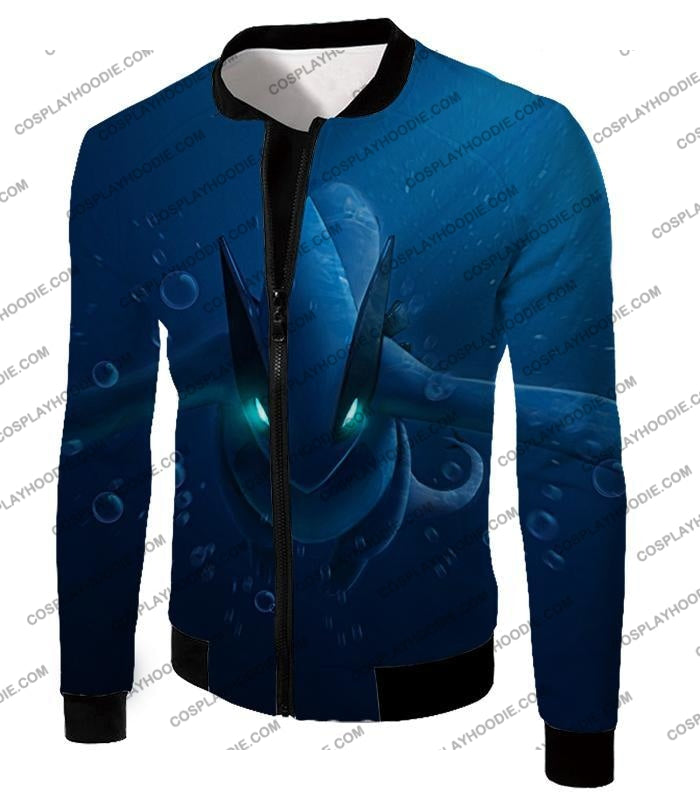 Pokemon Very Cool Legendary Lugia Action Anime Graphic T-Shirt Pkm135 Jacket / Us Xxs (Asian Xs)
