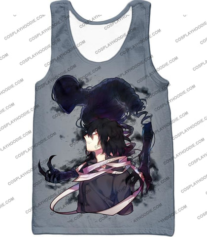 Image of My Hero Academia Cool Demi-Human X Pro Eraserhead Awesome Grey T-Shirt Mha064 Tank Top / Us Xxs
