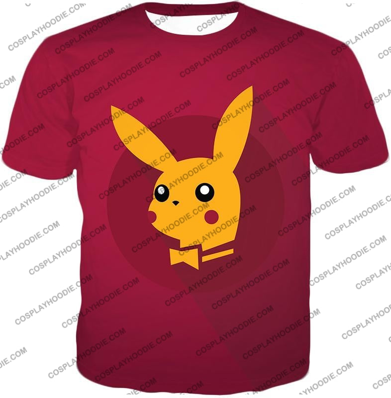 Pokemon Amazing Promo Pikachu Cool Purple Anime T-Shirt Pkm149 / Us Xxs (Asian Xs)