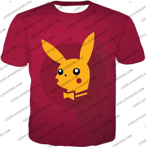Image of Pokemon Amazing Promo Pikachu Cool Purple Anime T-Shirt Pkm149 / Us Xxs (Asian Xs)