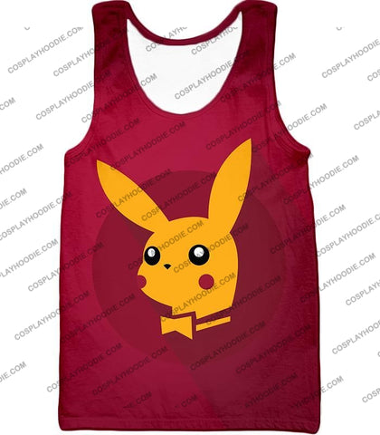 Image of Pokemon Amazing Promo Pikachu Cool Purple Anime T-Shirt Pkm149 Tank Top / Us Xxs (Asian Xs)