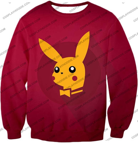 Image of Pokemon Amazing Promo Pikachu Cool Purple Anime T-Shirt Pkm149 Sweatshirt / Us Xxs (Asian Xs)