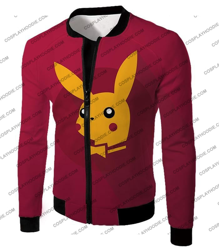 Pokemon Amazing Promo Pikachu Cool Purple Anime T-Shirt Pkm149 Jacket / Us Xxs (Asian Xs)