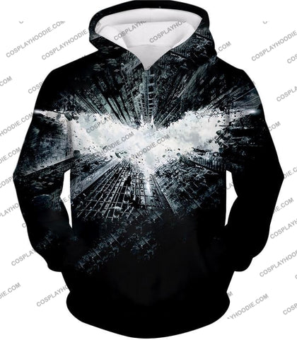 Image of Ultimate Batman Logo Graphic Promo T-Shirt Bm015 Hoodie / Us Xxs (Asian Xs)