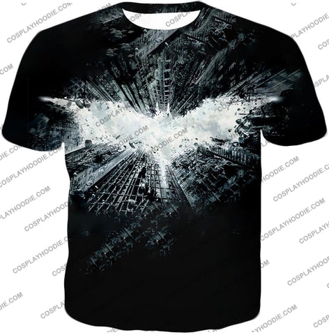 Image of Ultimate Batman Logo Graphic Promo T-Shirt Bm015 / Us Xxs (Asian Xs)