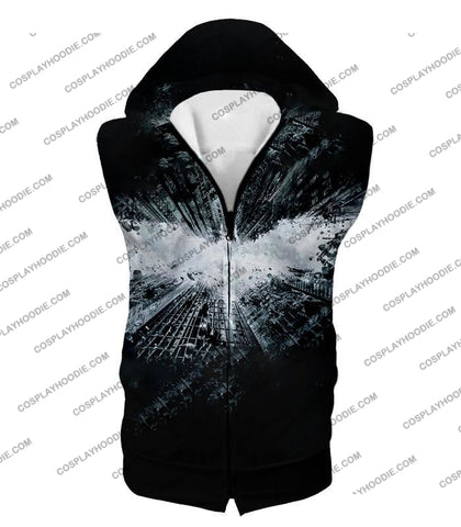 Image of Ultimate Batman Logo Graphic Promo T-Shirt Bm015 Hooded Tank Top / Us Xxs (Asian Xs)